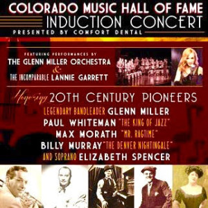 POSTER - Colorado Music Hall of Fame 2016